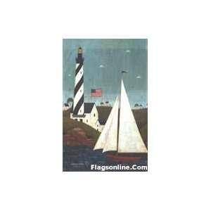 Toland Coastal Breeze Art Flag Patio, Lawn & Garden
