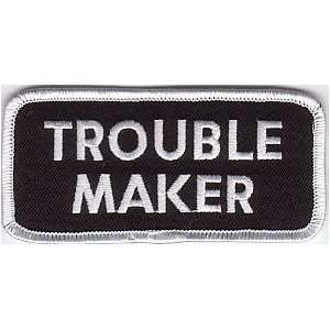 MAKER Embroidered Quality Cool Biker Vest Patch: Everything Else