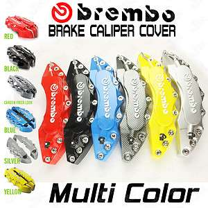 Brembo Look Brake Caliper Cover Kit Front+Rear Any Color BMW Benz