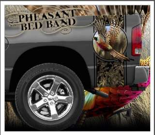 Pheasant Hunting truck bed band decal graphic striping