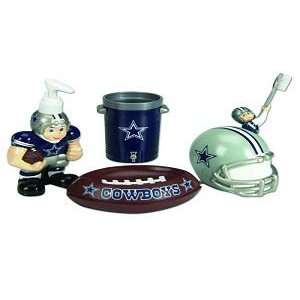 Dallas Cowboys 5 Piece Team Bathroom Set   NFL Football
