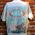 NHRA DRAG RACING T SHIRT FORD CHEVY MOPAR GASSER IHRA USAC HARLEY XL