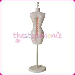 FOR BARBIE DOll Detachable Clothes Dress Model Stand