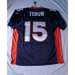Tim Tebow Hand Signed Autographed Authentic Denver Broncos Reebok