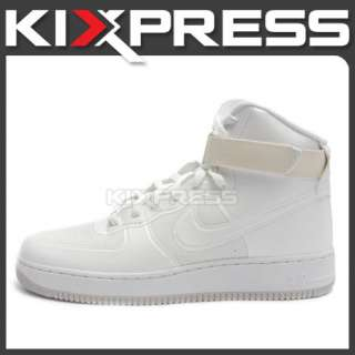 Nike Air Force 1 Hi HYP PRM [454433 100] Hyperfuse Premium True White