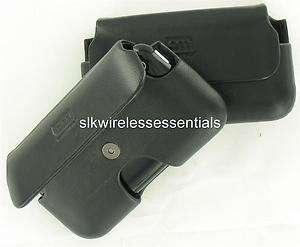 New Original OEM Case Mate iPhone 4/4S Premium Black Leather Pouch