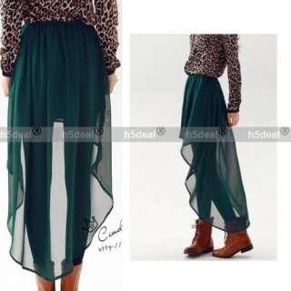 Chiffon Skirt Ladies Long Maxi Dress Elastic Waist 3 COLORS O