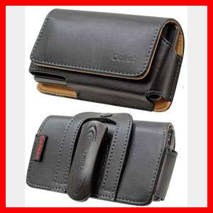Iphone 4S New Executive Genuine Leather Case Folio Hip Holster Black