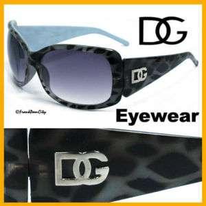 Wild Sexy Leopard Print Women Sunglasses   Blue D117