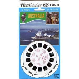 Australia   View Master 3 Reel Set   Images in 3D Toys