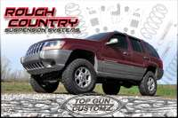 99 04 Jeep Grand Cherokee WJ X Series Lift Kit w/ Shocks