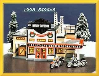 Harley Davidson Manufacturing Dept. 56 Snow Village D56 SV