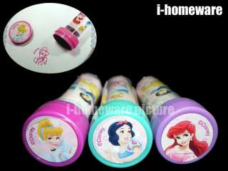 Princess Disney Party Toy Supply Self Inking Stamps Stampers