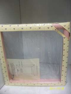 CREATIVE CIRCLE 9X9 WOODEN NEEDLE CRAFT FRAME SEALED PALEPINK