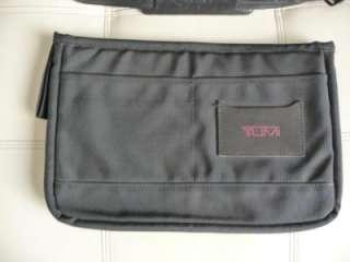 Black Leather LARGE Alpha Messenger/Briefcase/Laptop/Computer Bag