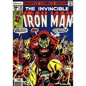 Invincible Iron Man (1968 series) #96 Marvel Books