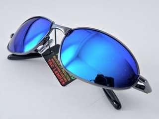 POLARIZED BLUESUNGLASSES Hard Shell Case w/revo style lens coating