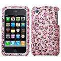 iPhone 3G Pink Butterfly Design Case