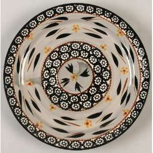 Temp Tations Old World Black Dinner Plate, Fine China