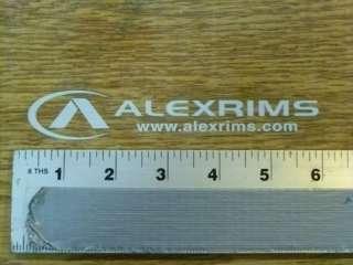 Alex Rims Wheels Sticker Decal