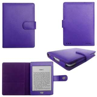Case Cover for  Ebook Kindle Touch + Skin Accessory PUR02