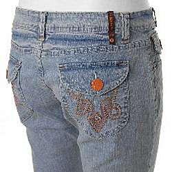 Crest Jeans Juniors Stretch Bermuda Shorts