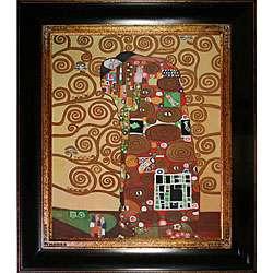 Gustav Klimt The Embrace Oil Painting