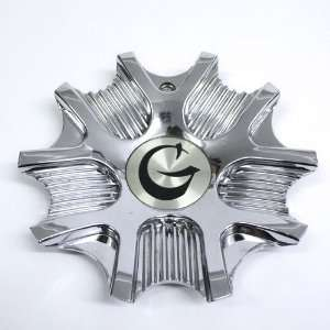 G Racing Wheel Chrome Center Cap #C 077 Automotive