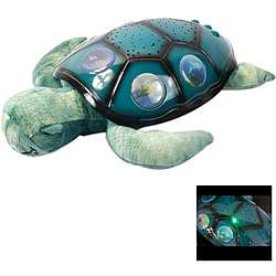 Sea Turtle Moon and Star Projection Night Light