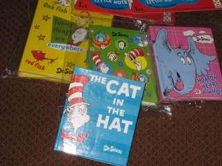 Seuss Cat in Hat ~ NEW ~ Favors Mini Books Sam I Am Horton Fish