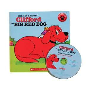 Clifford Big Red Dog Book & CD Toys & Games