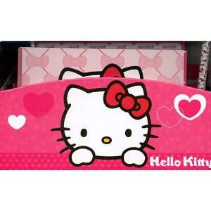 Large hello kitty new bedroom storage tidy book toy box for Bureau hello kitty
