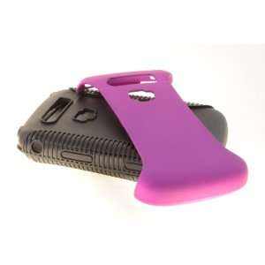 Blackberry Torch 9800 / 9810 Hybrid Case Cover for Purple