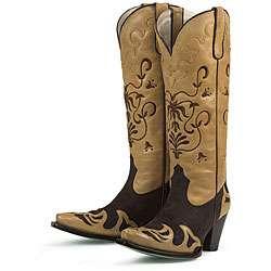 Lane Boots Womens Mocha Strut Cowboy Boots