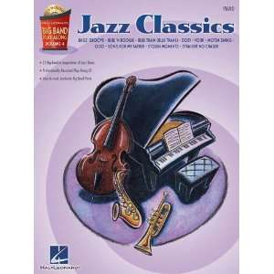 Jazz Classics   Piano   Big Band Play Along Volume 4   Bk