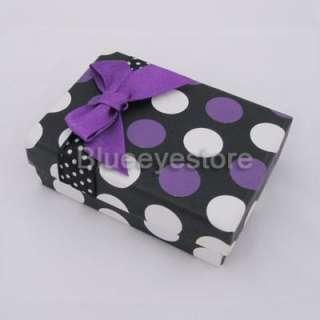 Fantion Purple USB gift box gift Jewelry box case 9CM
