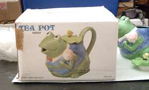 Otagiri Ceramic Mary Ann Baker Frog FREDDY Tea Pot
