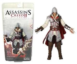 New NECA Assassins Creed II Ezio Standard White 7 Action Figure