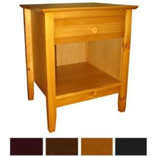 Scandinavia Solid Pine End Table
