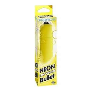 Neon Luv Touch Bullet   Yellow: Health & Personal Care
