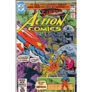Action Comics, Vol 44 #515 (Comic Book) MARV WOLFMAN Books