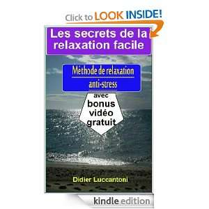 de relaxation anti stress, livre1 (Relaxation3Temps) (French Edition