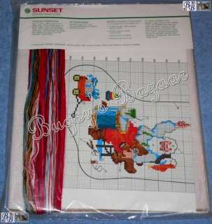 SANTAS FINISHING TOUCH Counted Cross Stitch Christmas Stocking Kit