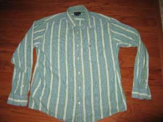 LOT 15 ADULT MENS DRESS SHIRTS AMERICAN EAGLE AEROPOSTALE ABERCROMBIE