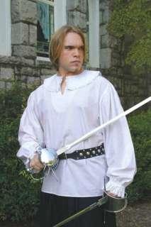 Men Musketeer Shirt Renaissance Faire Medieval Costume