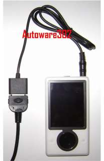 Microsoft Zune Player Audio To Ipod Dock Cable Adapter