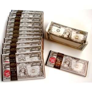 Set Of 12 Million Dollar LIMITED EDITION Dark Chocolate Candy Bars