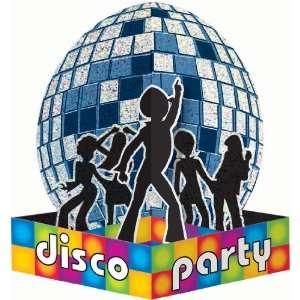 9.75 Disco Party Prismatic Centerpiece: Toys & Games