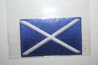 SCOTLAND ST ANDREWS SMALL IRON ON PATCH CREST BADGE