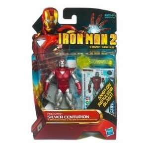 Inch Action Figure #34 Silver Centurion Iron Man Toys & Games